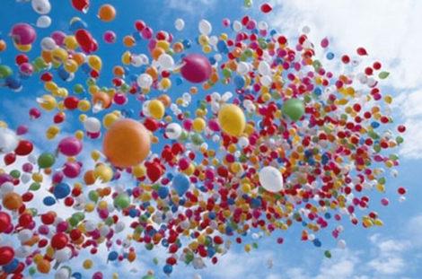 Сюрпризы и подарки из воздушных шаров